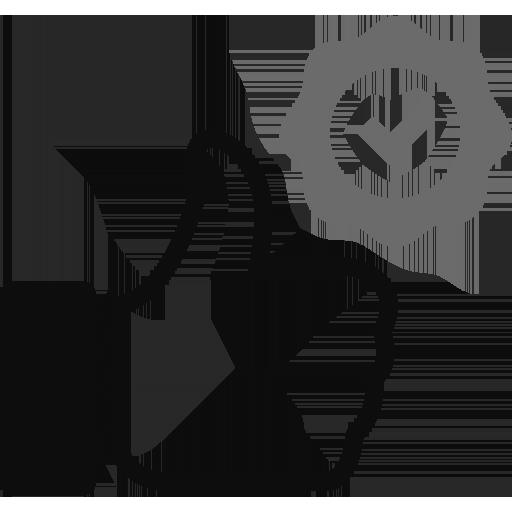 Icono de una mano en señal de aprobación (ayudas y subvenciones)